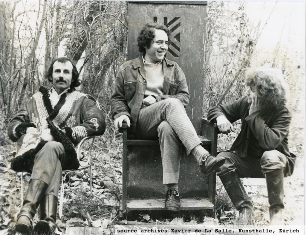 le Group Ludic (de gauche à droite D. Roditi, X. de la Salle, S. Koszel)